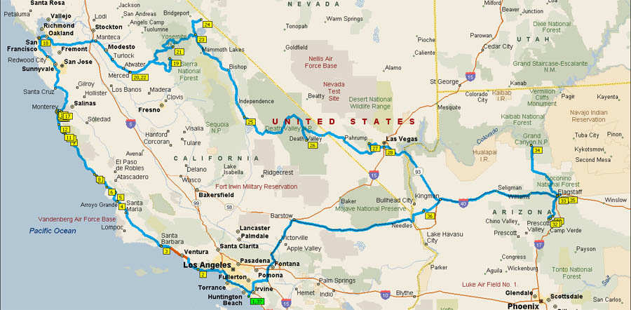 trip to california Find the best day trip or weekend getaway solution in california for your time and money with this handy guide.