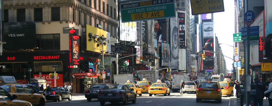 7th Avenue, Times Square, New York City